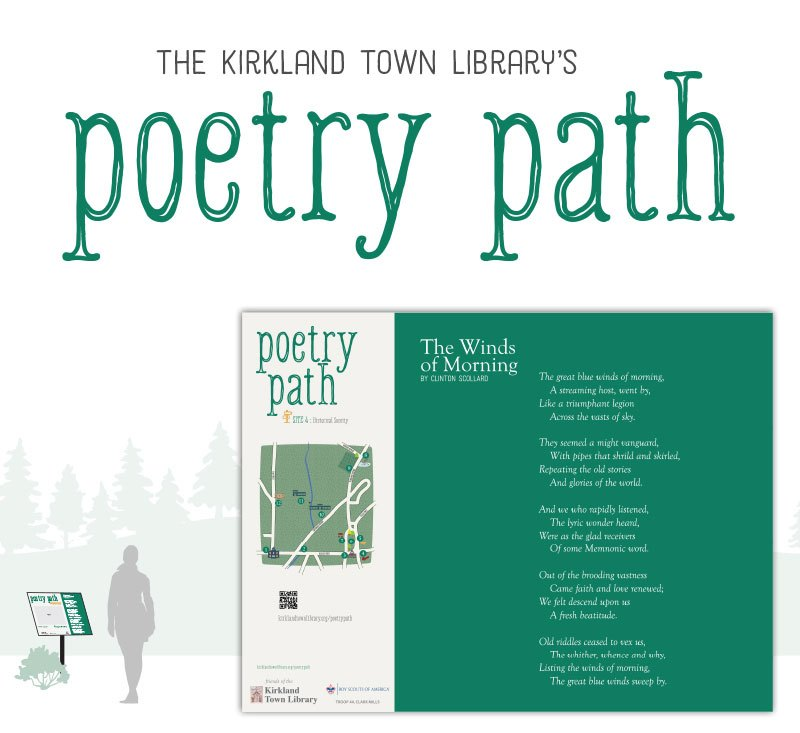 Poetry Path | Kirkland Town Library