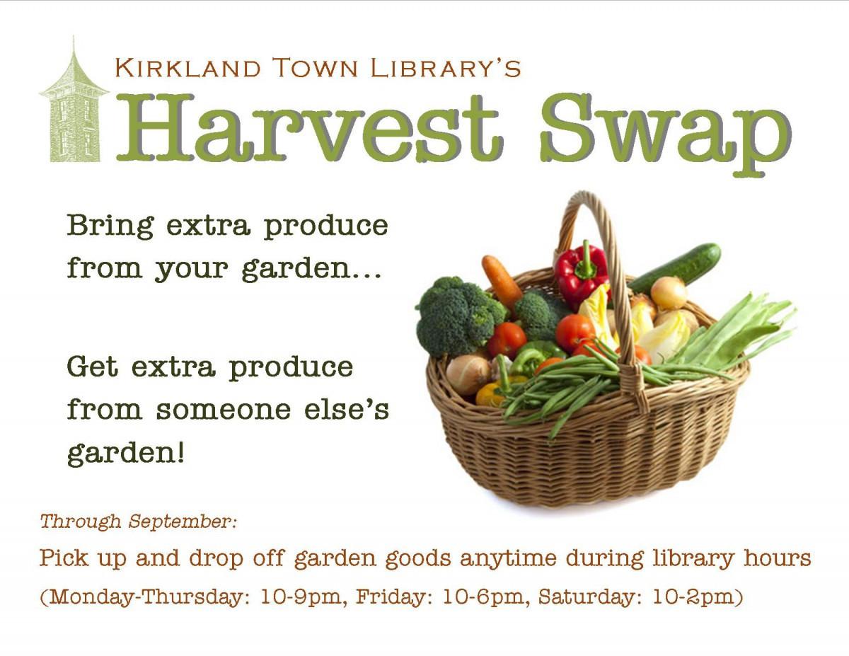 harvest swap ad