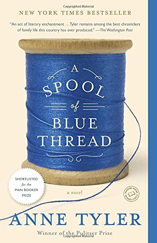september wednesday bookgroup title: a spool of blue thread