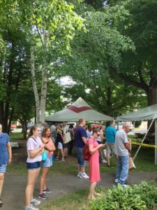 Book Sale on the Village Green
