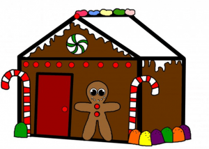 Family Craft: Decorate a Gingerbread House