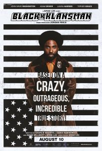 Monday Movie: BlacKkKlansman