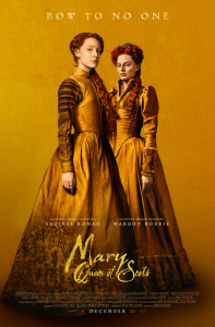 "Monday Movie: ""Mary Queen of Scots"""
