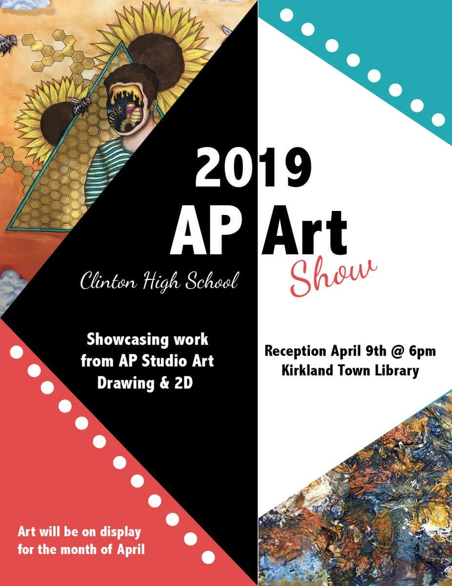 Ap Art Show Poster 2019 Kirkland Town Library