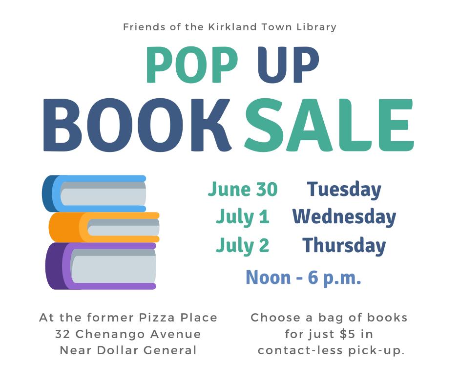Pop Up Book Sale