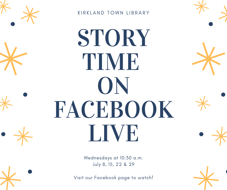 Facebook Live Story Time