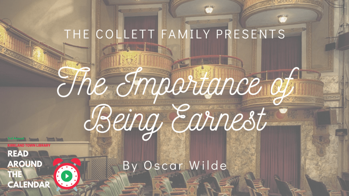 Read Around The Calendar: The Importance of Being Earnest