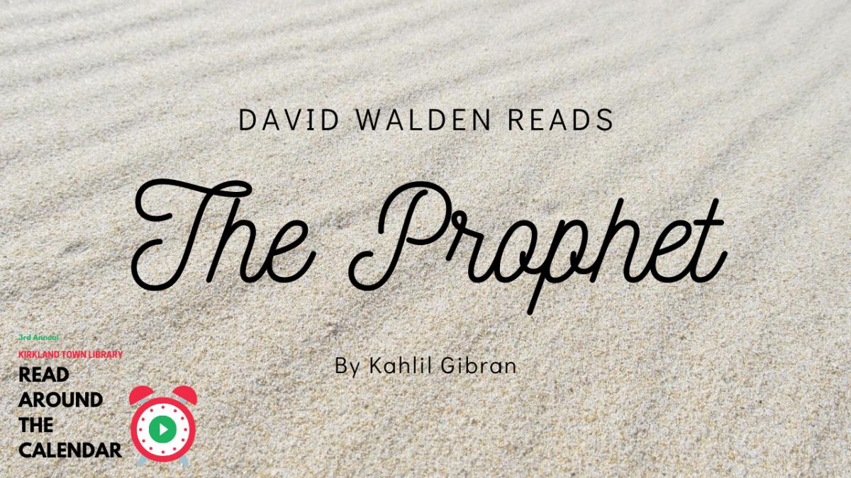 Read Around The Calendar: The Prophet
