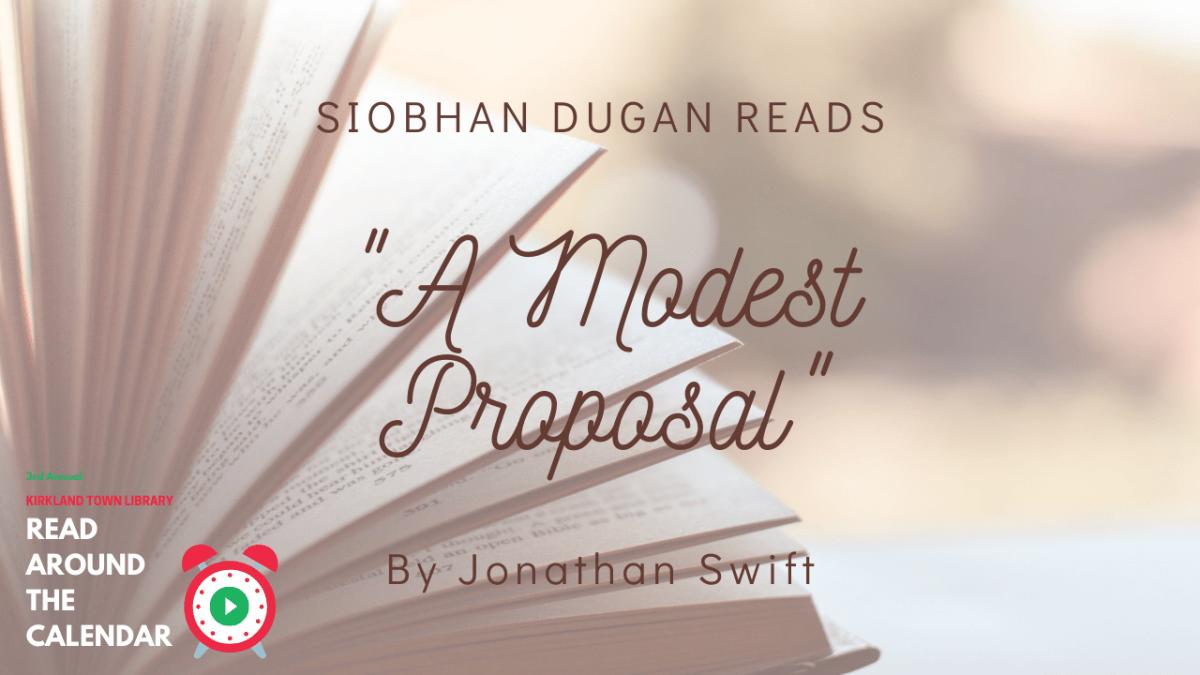 Read Around The Calendar: A Modest Proposal