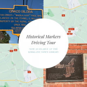 Historical Markers Driving Tour