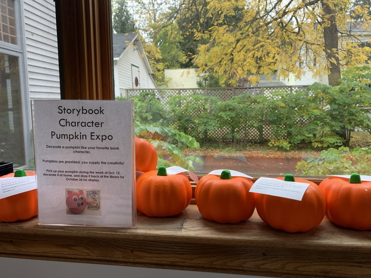 6th Annual Storybook Pumpkin Contest