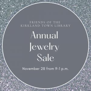 Annual Jewelry Sale