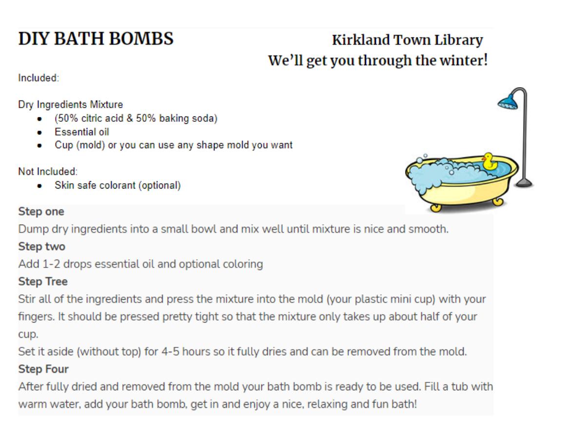 Make a Bath Bomb