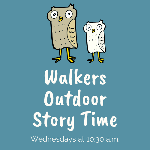 Walkers Outdoor Story Time