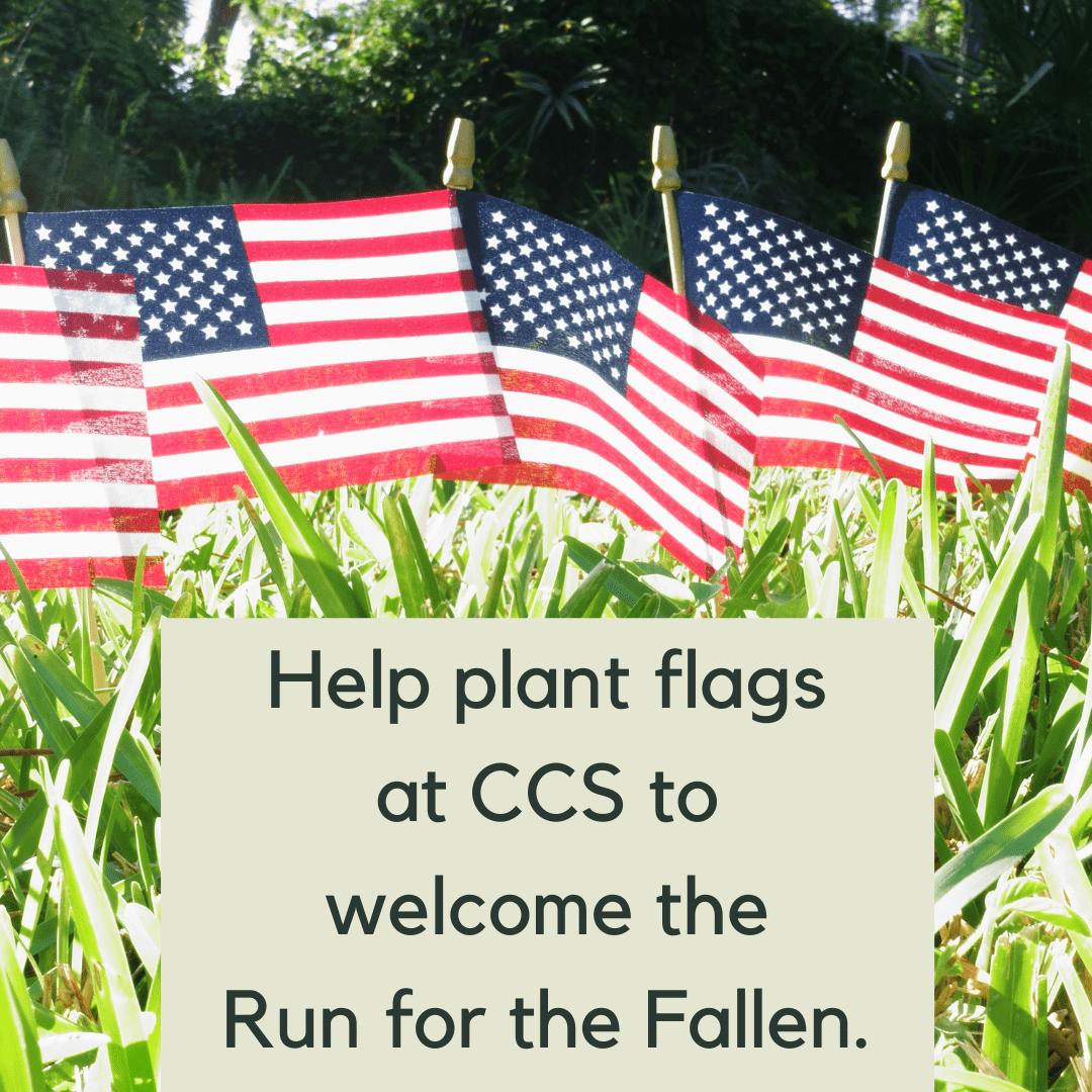 Volunteers Needed to Plant Flags