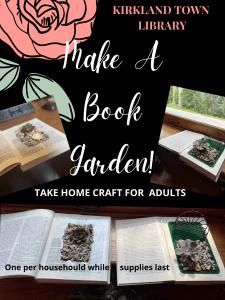 Take and Make Book Garden