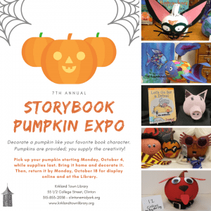 7th Annual Storybook Pumpkin Expo